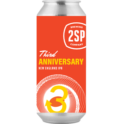 3rd Anniversary New England IPA from 2SP