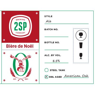 Biere De Noel Ale American Oak
