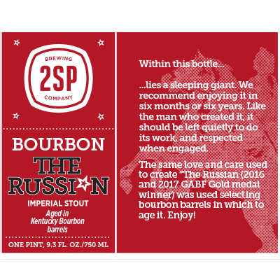 Bourbon The Russian Imperial Stout