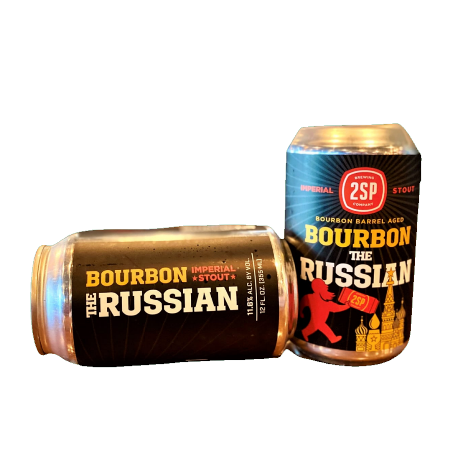 Bourbon the Russian from 2SP Brewing