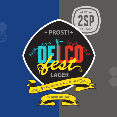 DelcoFest Lager from 2SP Brewing