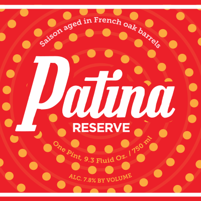 Patina Reserve Saison Aged in French Oak Barrels