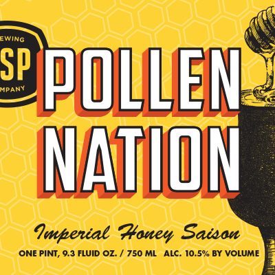 Pollen Nation Imperial Honey Saison Pint