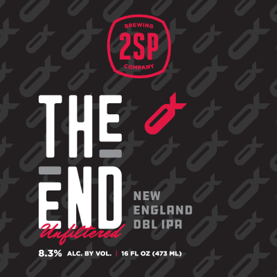The End Unfiltered New England DBL IPA