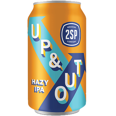 Up & Out Hazy IPA from 2SP