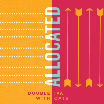 Allocated Double IPA with Oats