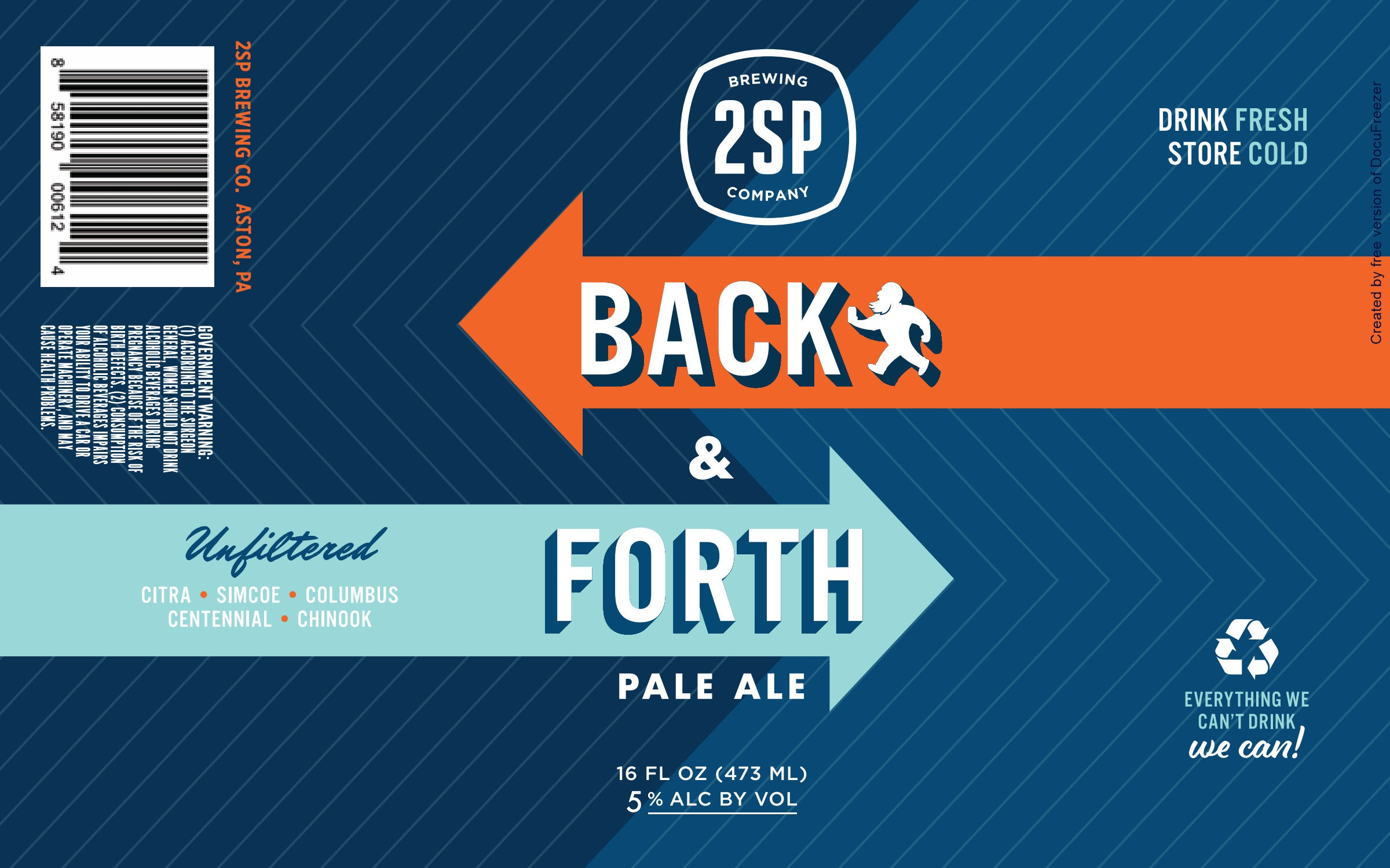 Back and Forth Pale Ale from 2SP Brewing