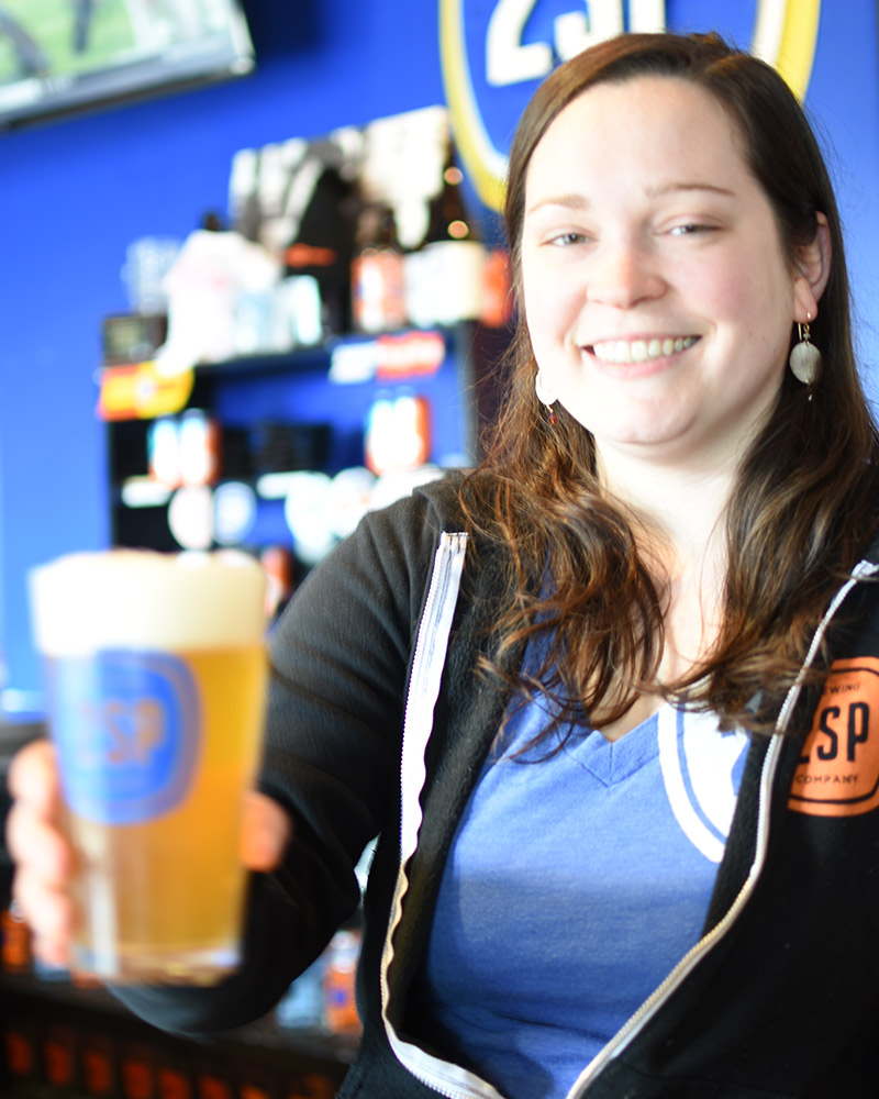 Jill at 2SP Brewing