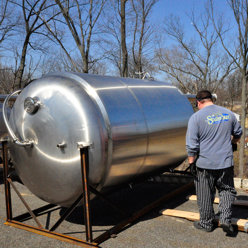 Outdoor Brewing Tank at 2SP