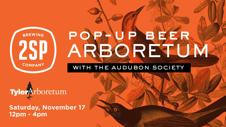Pop Up Beer Arboretum with the Audubon Society