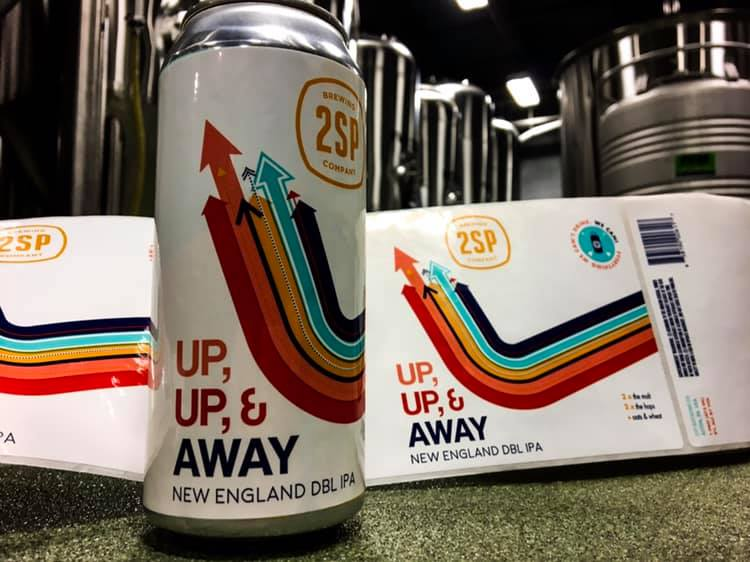Up Up and Away New England DBL IPA 2SP