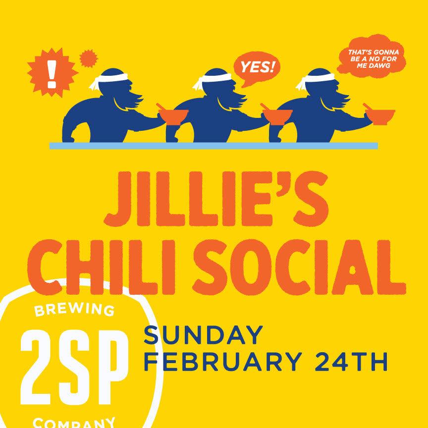Jillie's Chili Social on February 24th