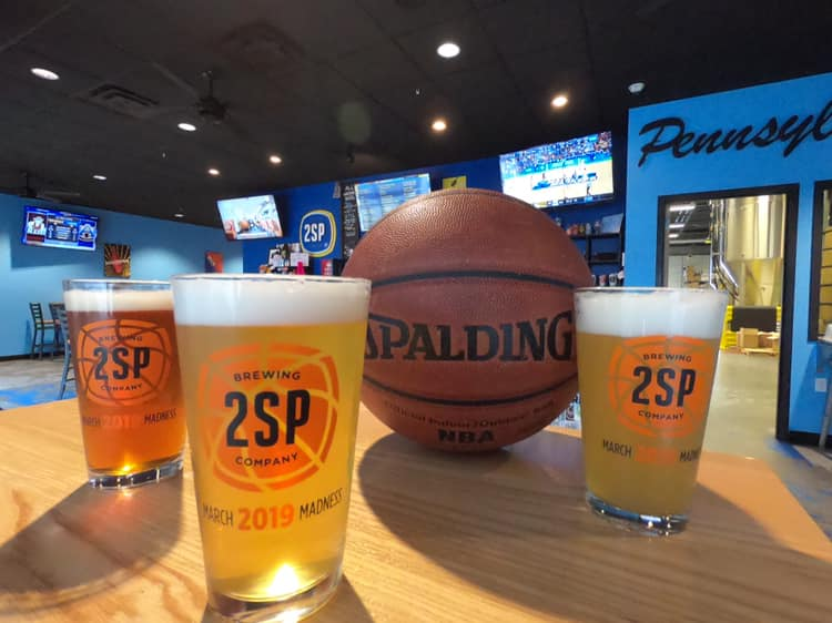 March Madness 2SP Pint Glasses