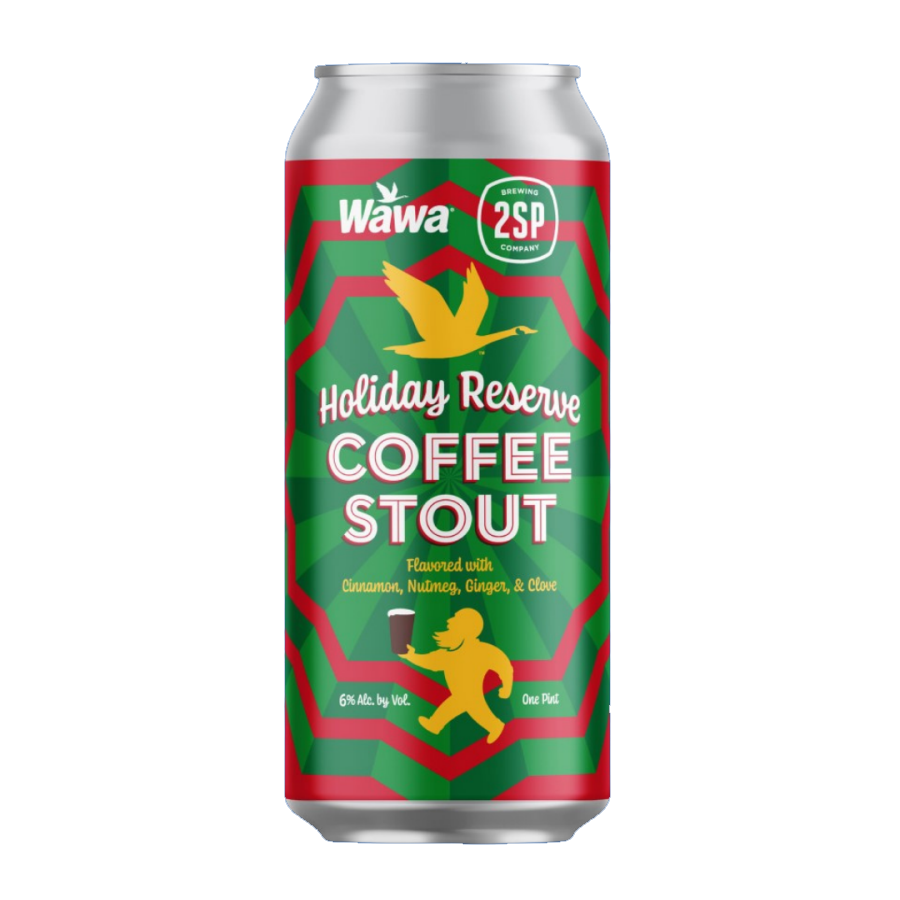 Coffee Stout from 2SP Brewing and Wawa